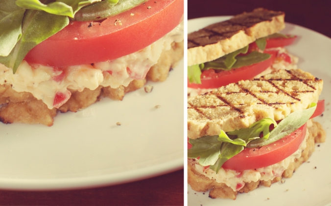 cheffies-cafe-southern-vegetarian-cookbook-book-signing-justin-fox-burks-amy-lawrence-lemon-zest-thyme-pimento-cheese-sandwich
